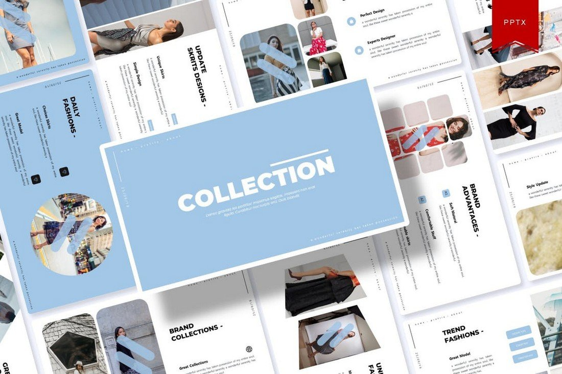 Collection - Clean Powerpoint Template