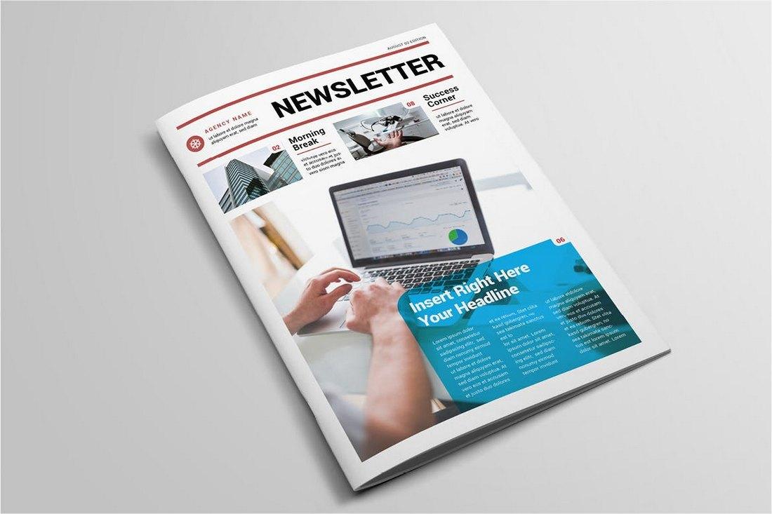 College-School-Newsletter-Template 20+ School Newsletter Templates design tips
