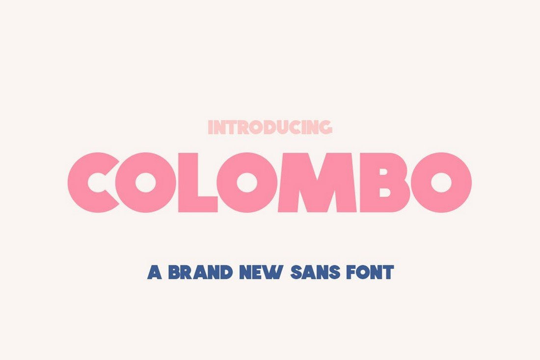 Colombo - Modern Bold Font