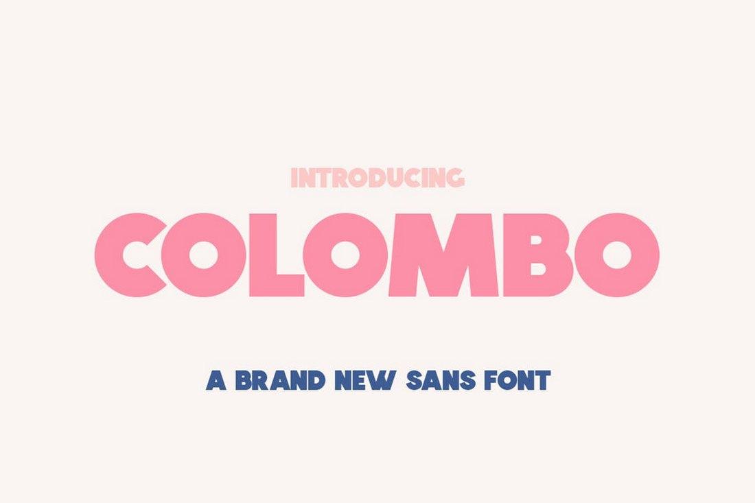 Colombo Sans - Creative Header Font