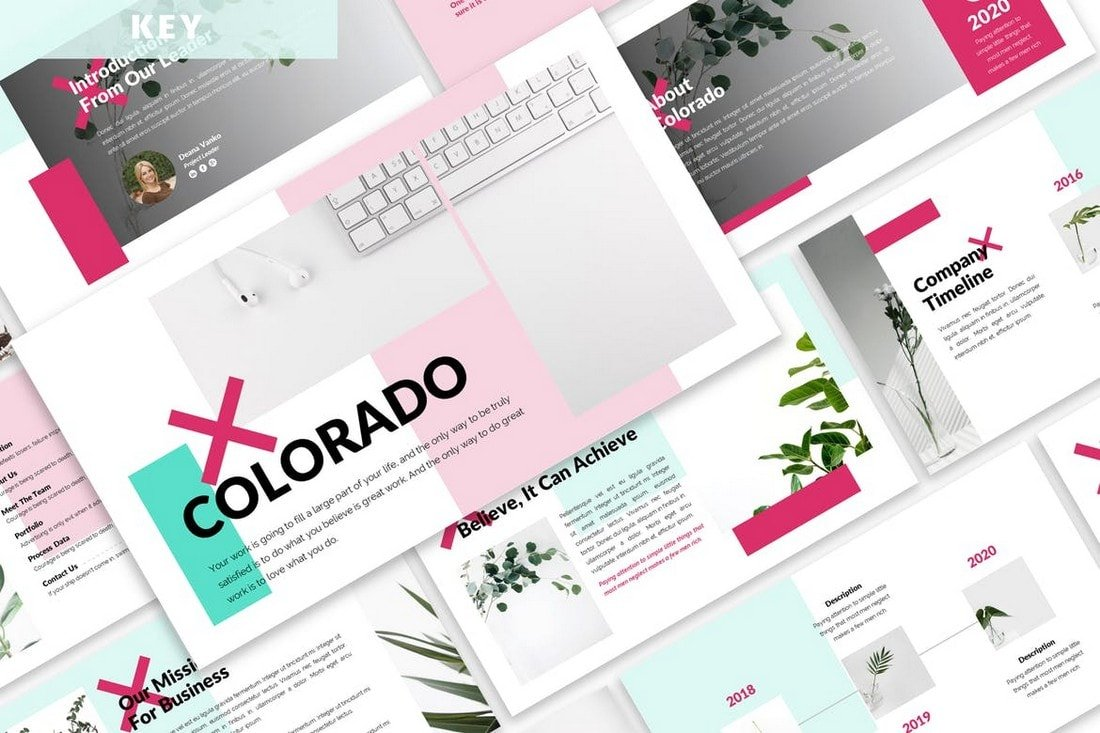 Colorado - Business Keynote Template