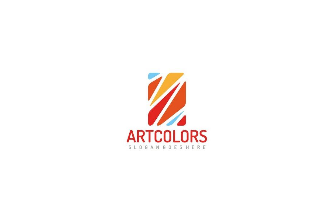 Colorful Mosaic Logo