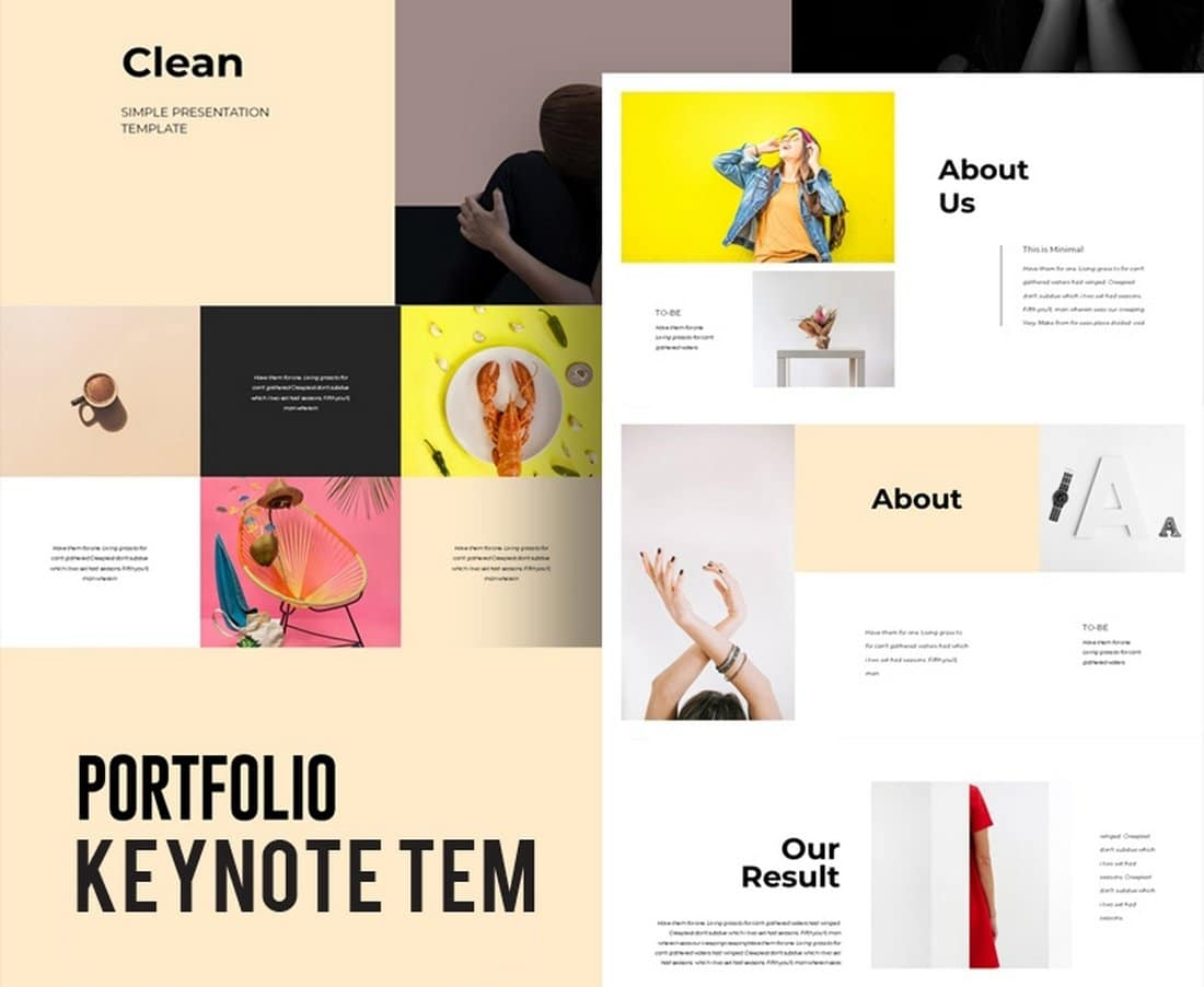 Colorful-Portfolio-Free-Keynote-Template 50+ Best Keynote Templates of 2021 design tips