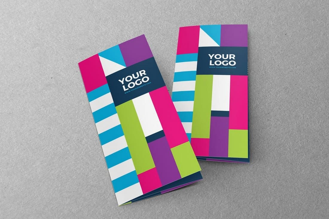 Colorful Trifold Brochure Template