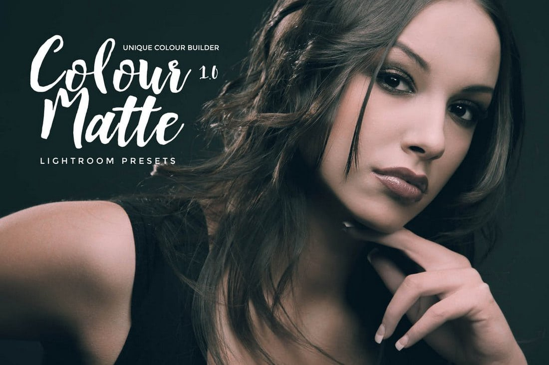 Colour-Matte-Lightroom-Presets-Vol.-1 50+ Best Lightroom Presets for Portraits (Free & Pro) 2020 design tips