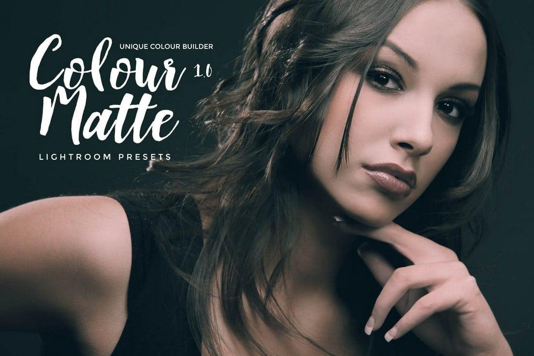 Colour-Matte-Lightroom-Presets-Vol.-1 20+ Best Lightroom Presets for Portraits design tips