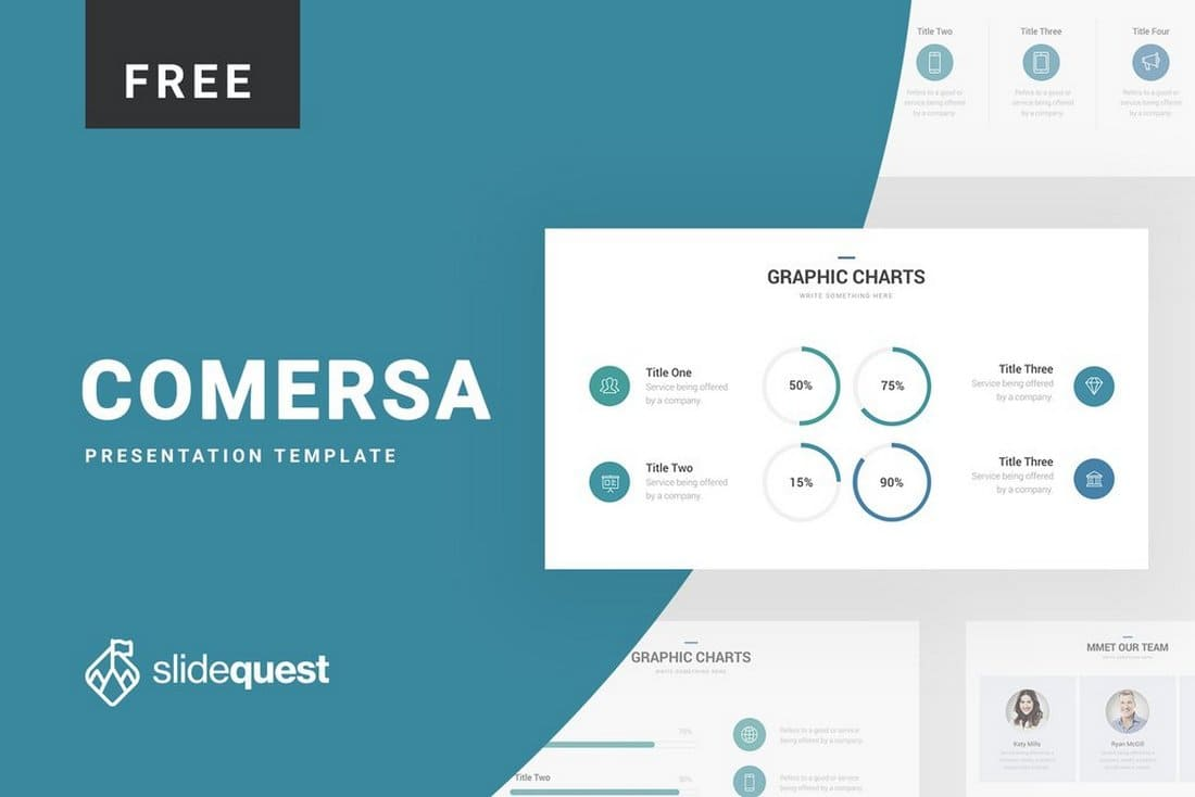 Comersa-Free-Pitch-Deck-Keynote-Template 50+ Best Free Keynote Templates 2020 design tips