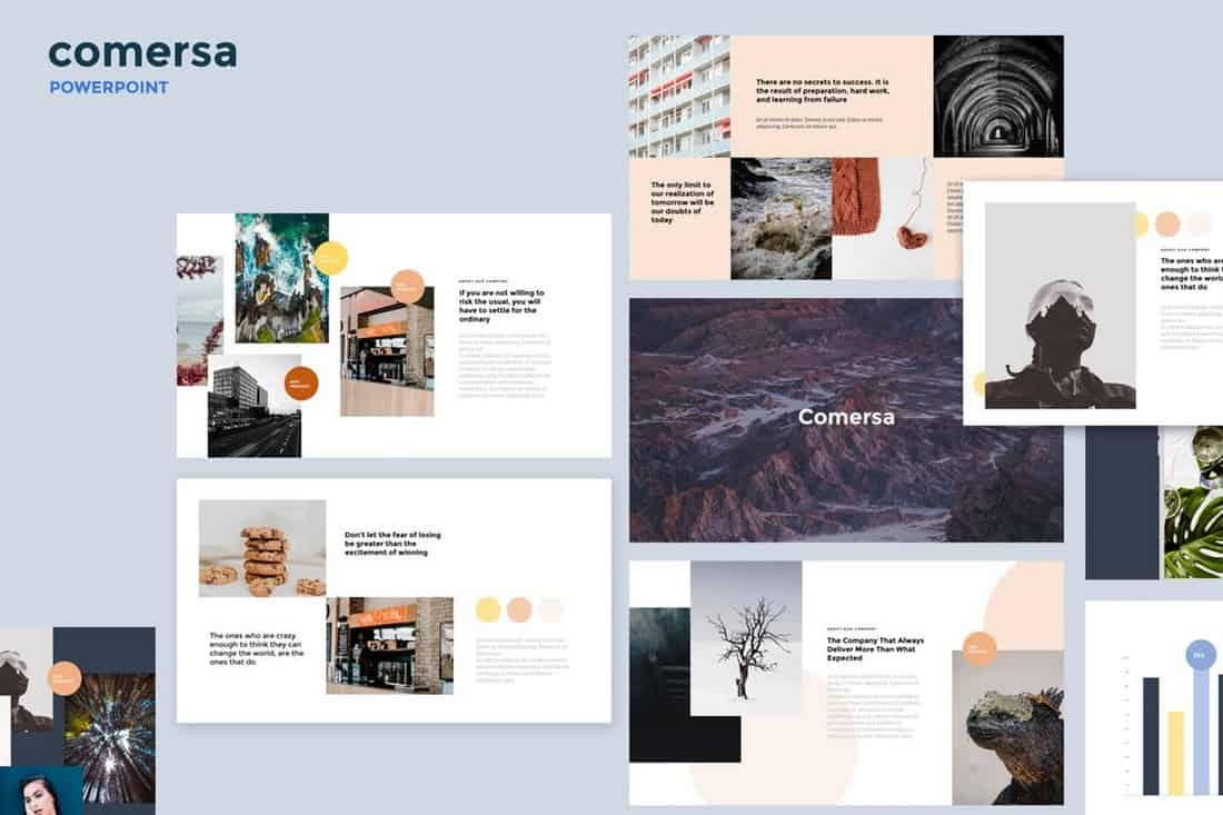 Comersa - Multipurpose Powerpoint Template