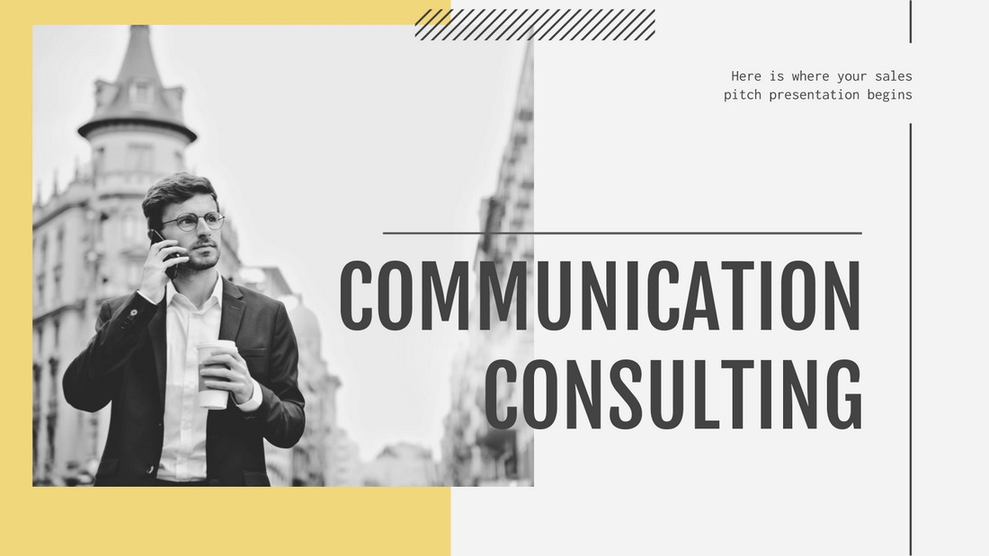 Communication Consulting - Free Google Slides Theme