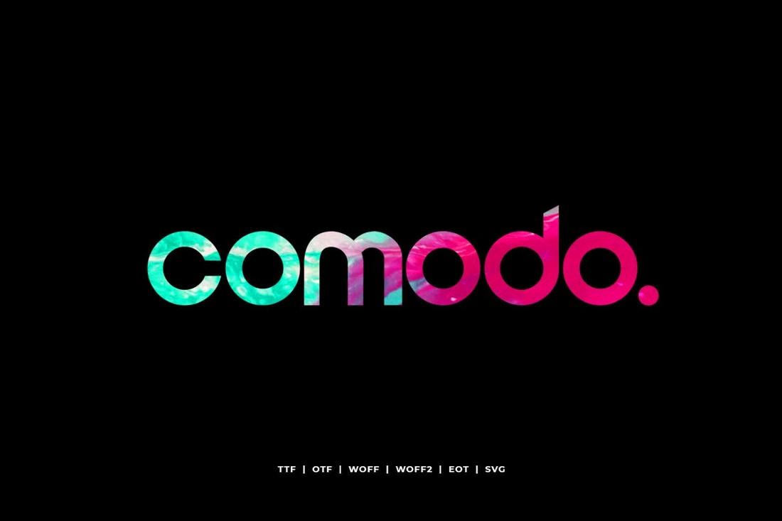 Comodo for Website Headers