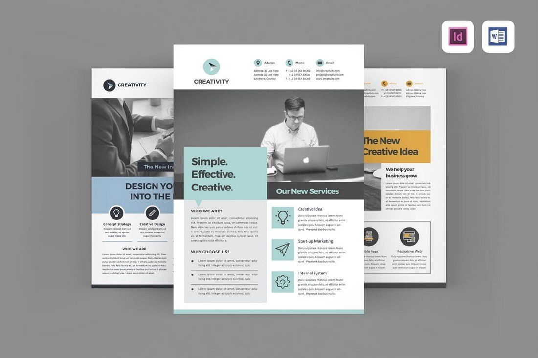 Company-Flyer-Templates 40+ Best Microsoft Word Brochure Templates 2020 design tips  Inspiration|brochure|templates