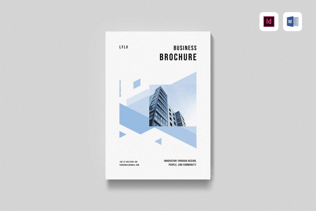 Company Profile Brochure Word Template