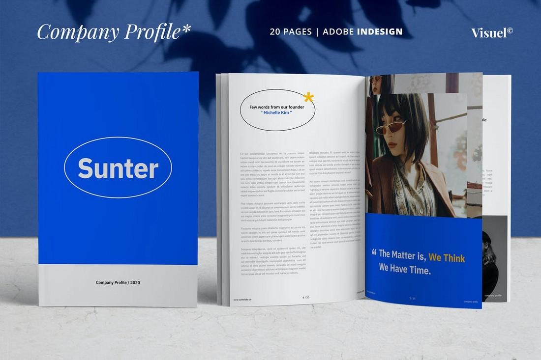 Company-Profile-Corporate-Brochure-Template 70+ Modern Corporate Brochure Templates design tips