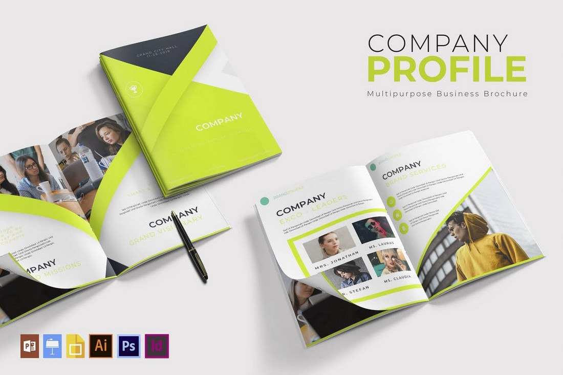 Company Profile - Creative Brochure Template