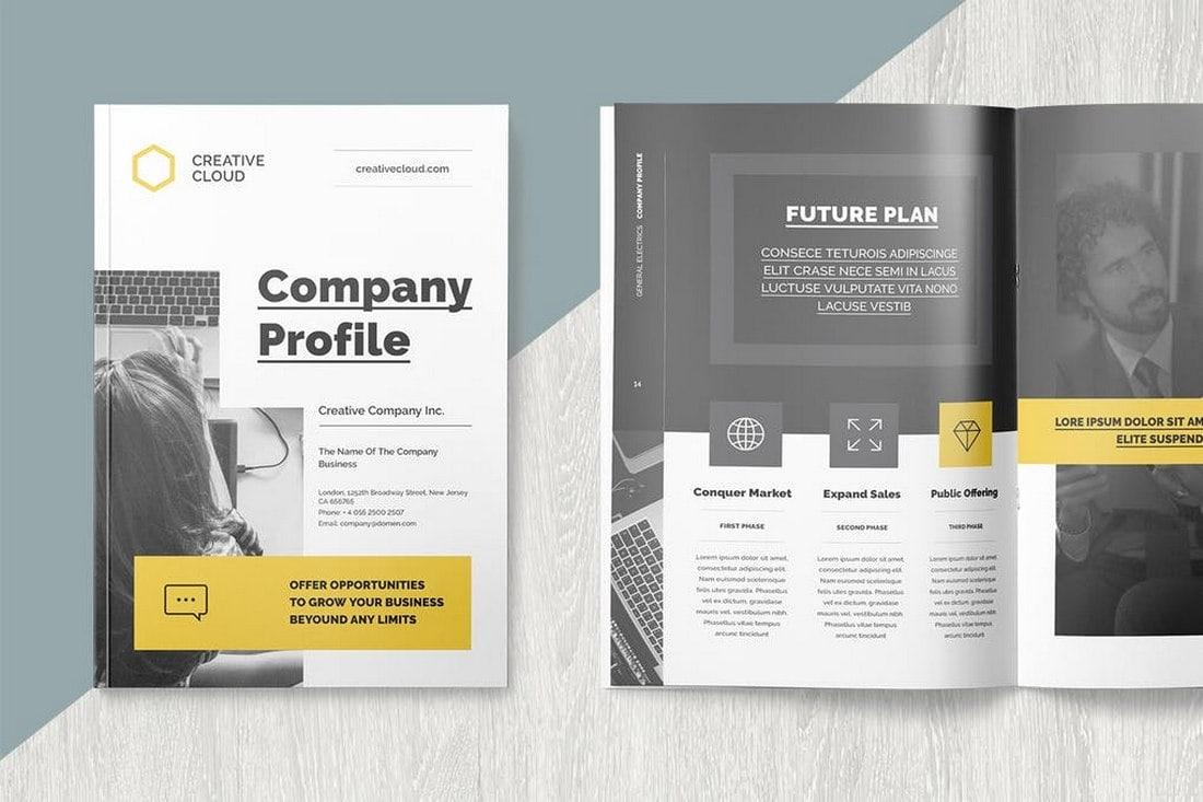 Company Profile - Modern Brochure Template