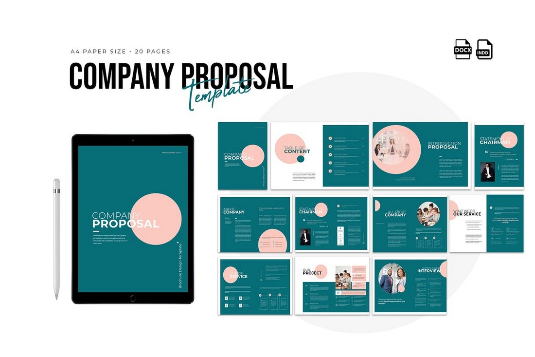 Company Profile & Proposal Word Template