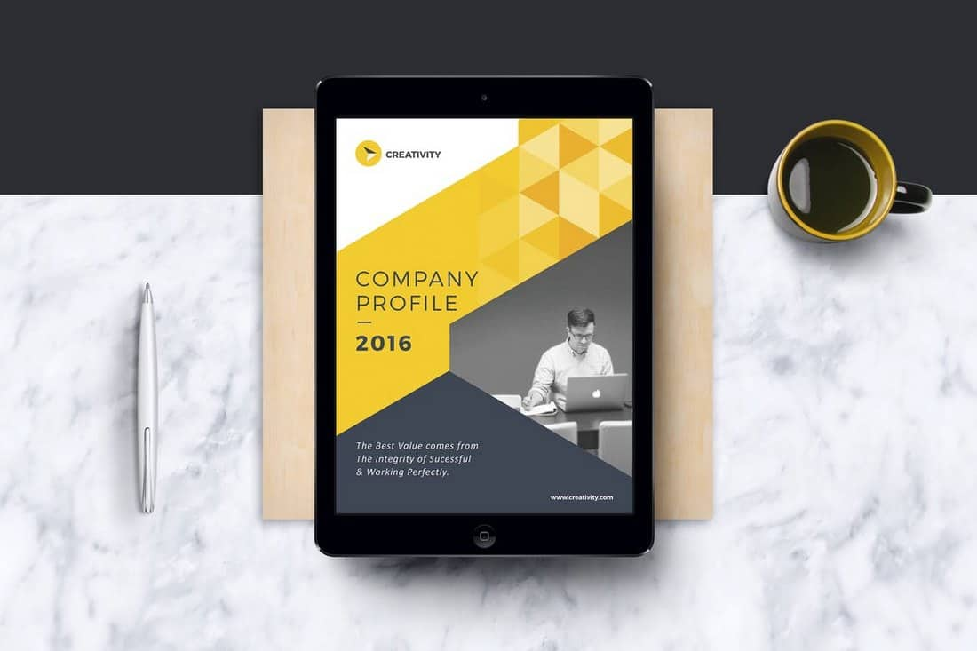 Company Project EBook Template