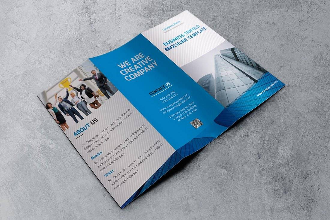 Company-Trifold-Brochure-Template 20+ Best InDesign TriFold Templates 2020 design tips  Inspiration