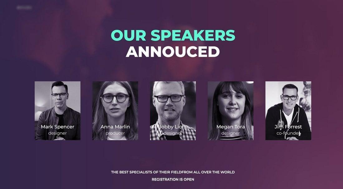 Conference & Event Promo Template for Premiere Pro