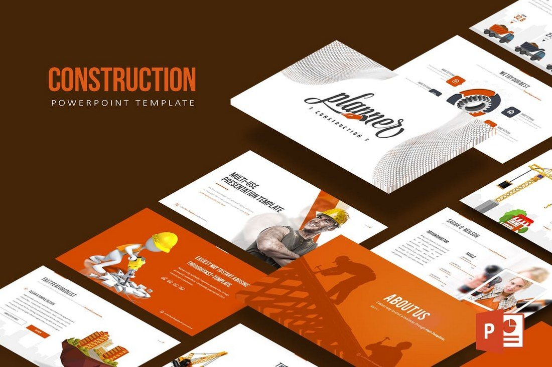 Construction-Powerpoint-Template 50+ Best PowerPoint Templates of 2019 design tips