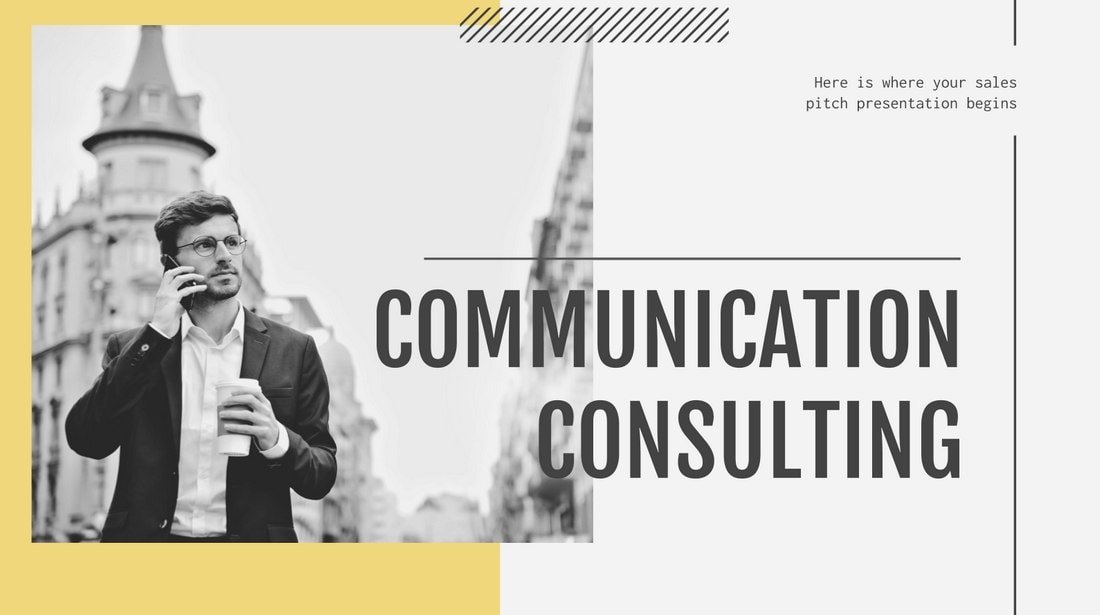 Consulting Agency Profile - Free PowerPoint Template