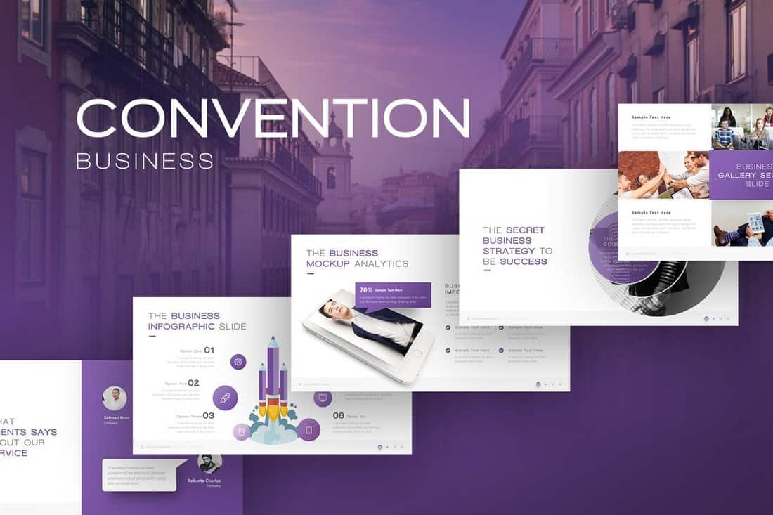 Convention - Business Presentation Template