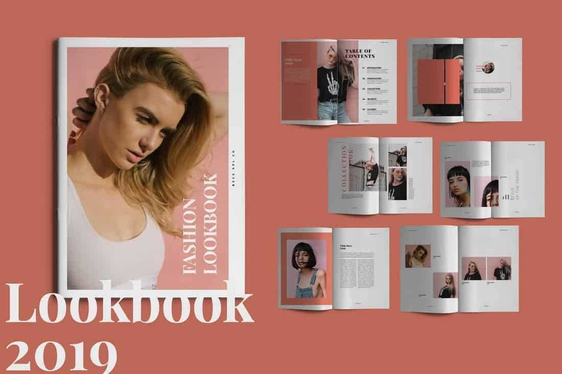 Coral - Look book Template