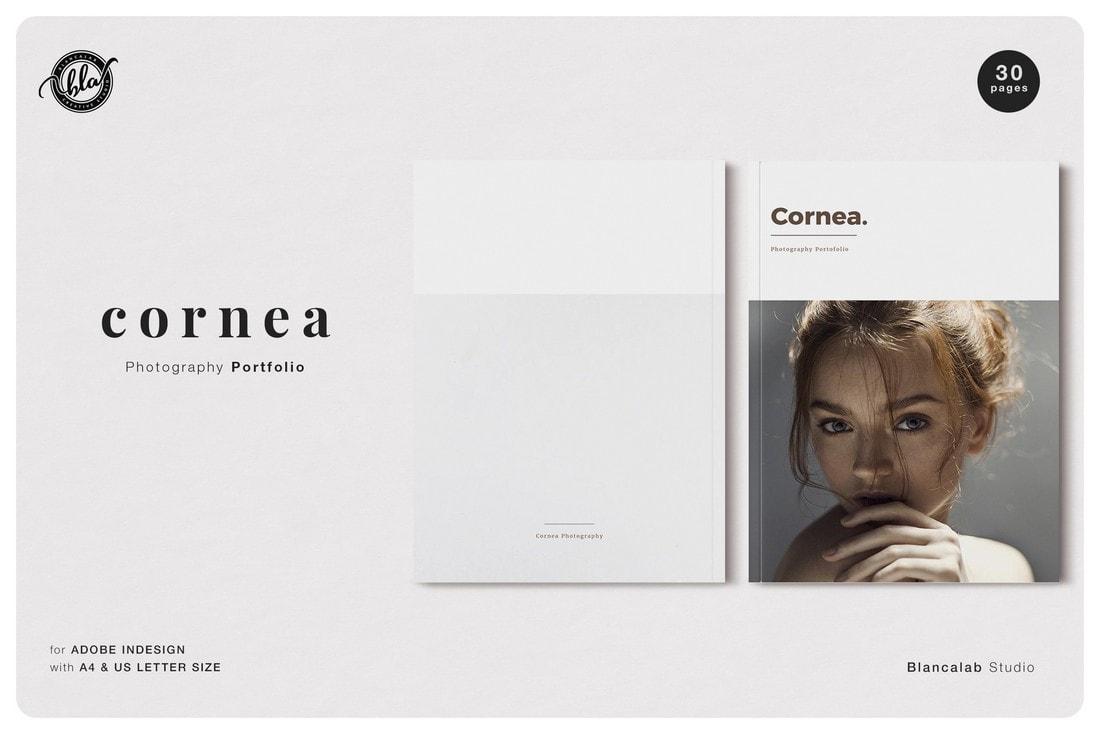 Cornea-Photography-Free-InDesign-Magazine 30+ Best InDesign Magazine Templates 2021 (Free & Premium) design tips