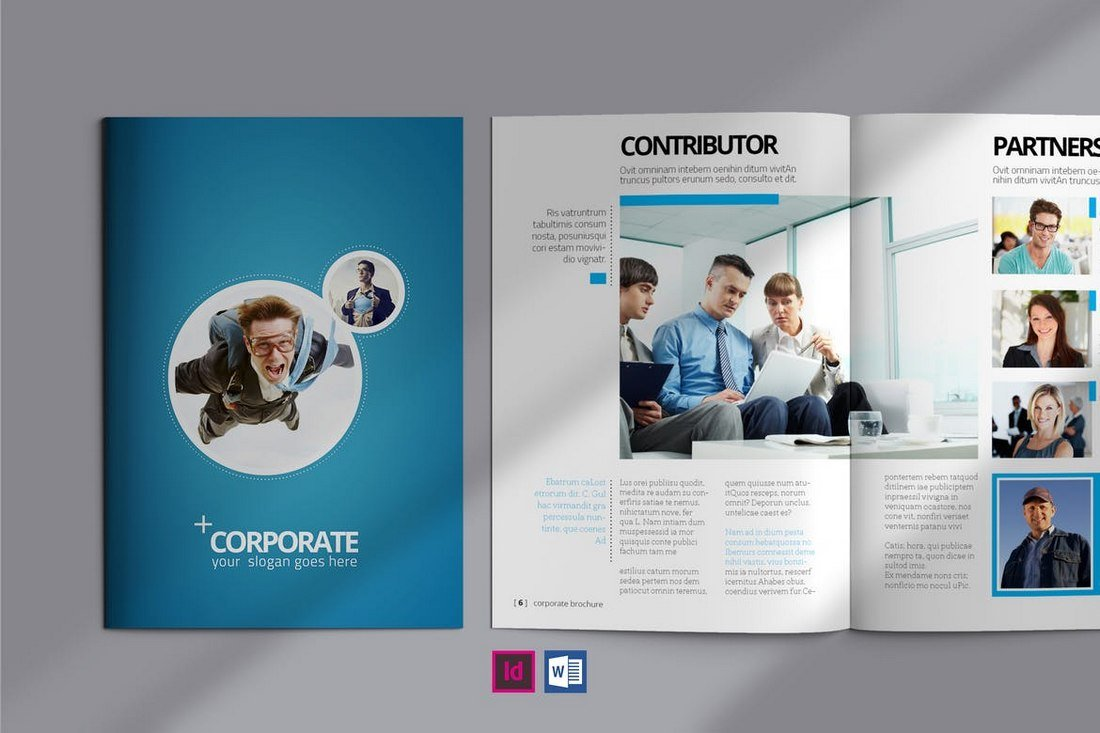 Corporate Brochure - InDesign & Word