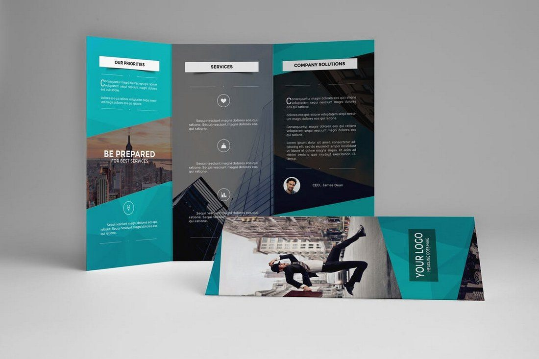 brochure templates design shack