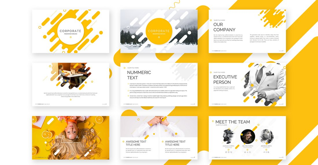 Corporate - Free Powerpoint Template