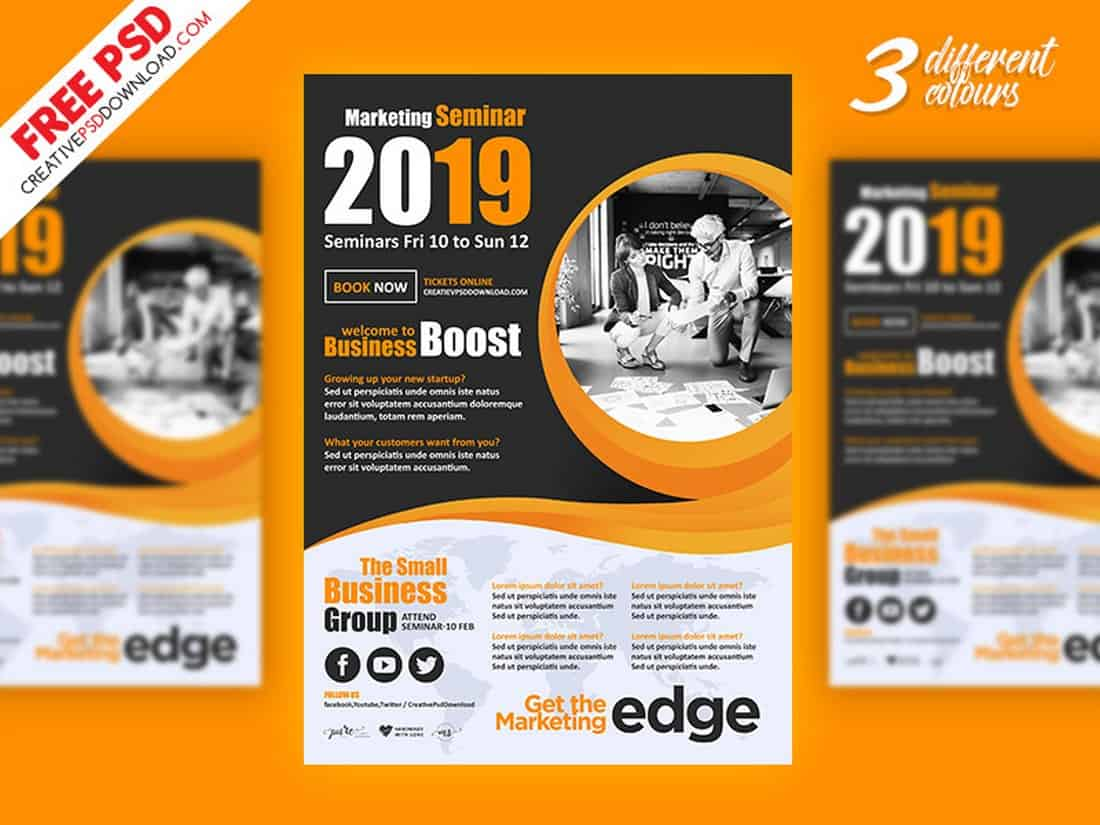 Corporate Marketing Flyer Template