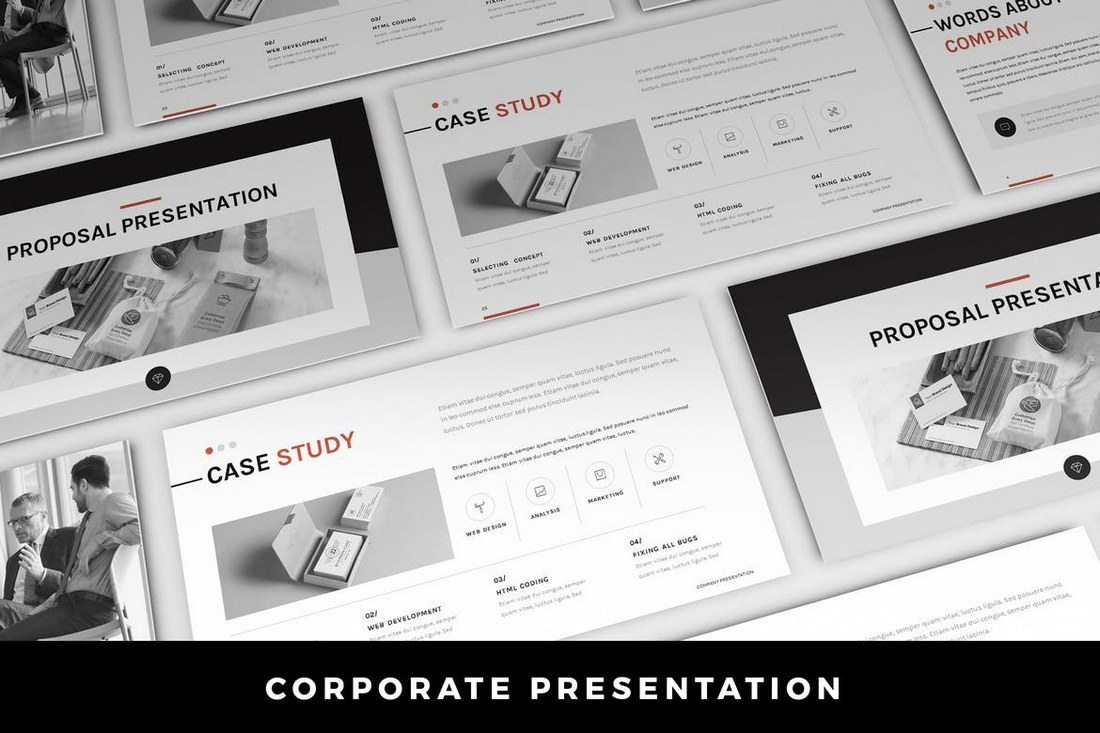 Corporate-PowerPoint-Presentation 50+ Best PowerPoint Templates of 2019 design tips