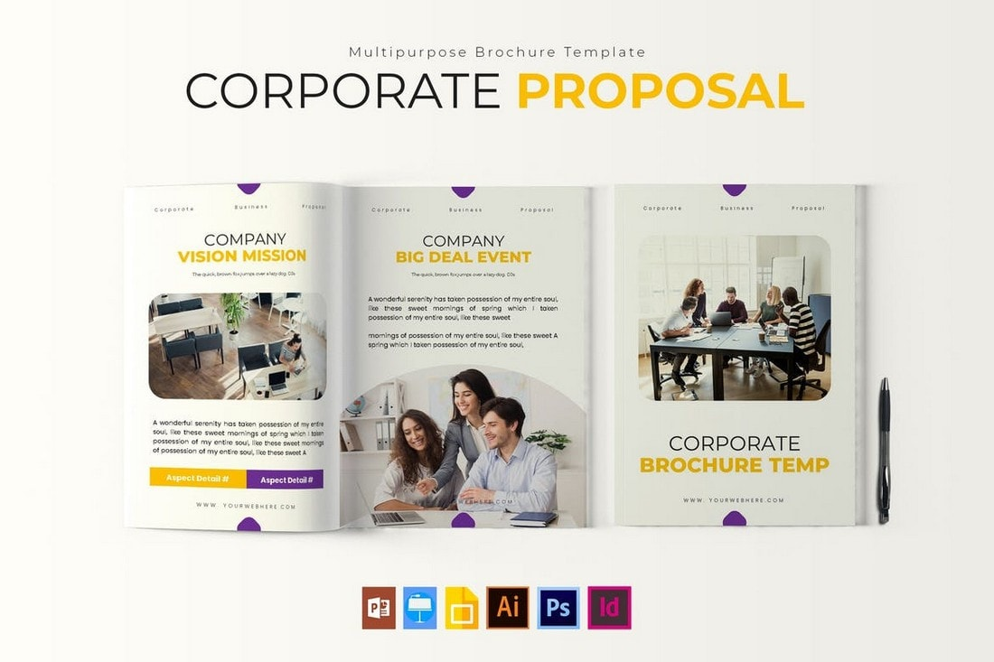 Corporate Proposal - Brochure Template