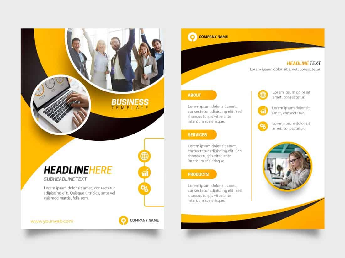 Corproate Business Free Flyer Template