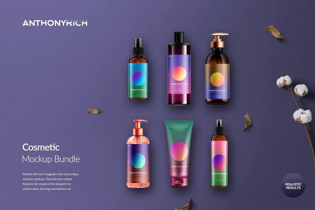 Cosmetics Mockup Bundle
