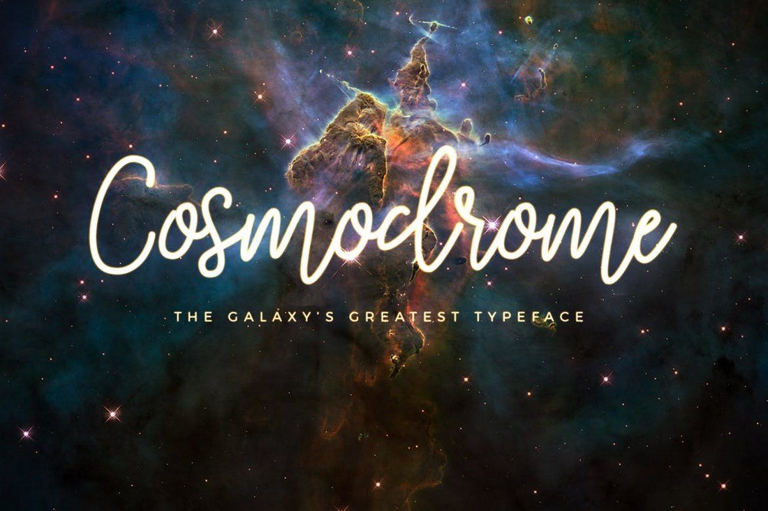 Cosmodrome-Monoline-Script-Font 100+ Beautiful Script, Brush & Calligraphy Fonts design tips