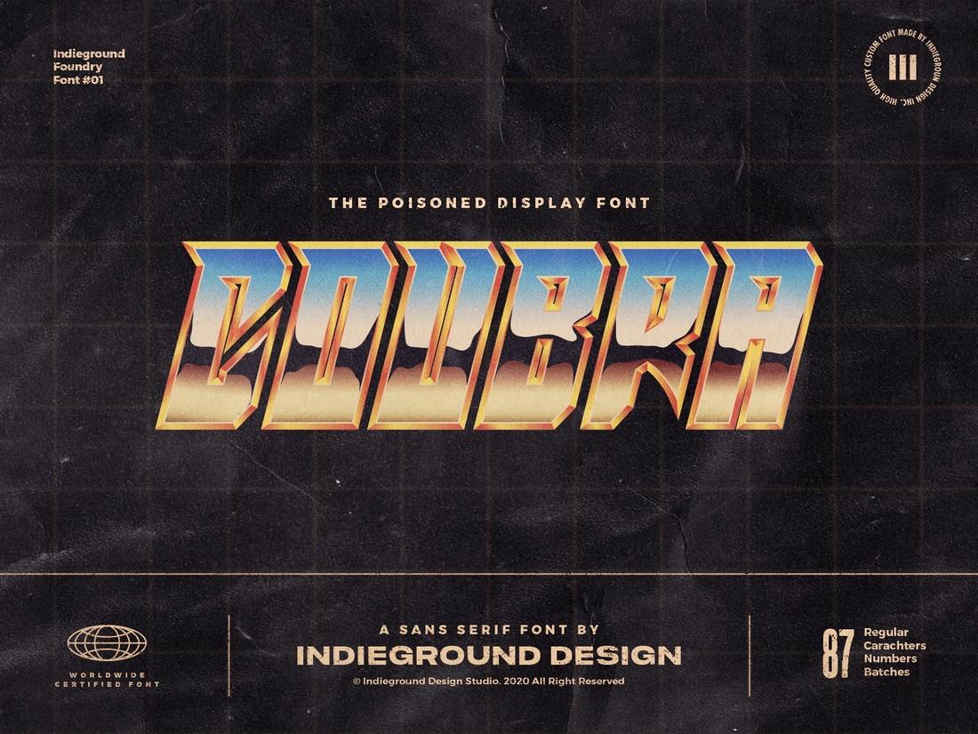 Coubra - Free Retro Font