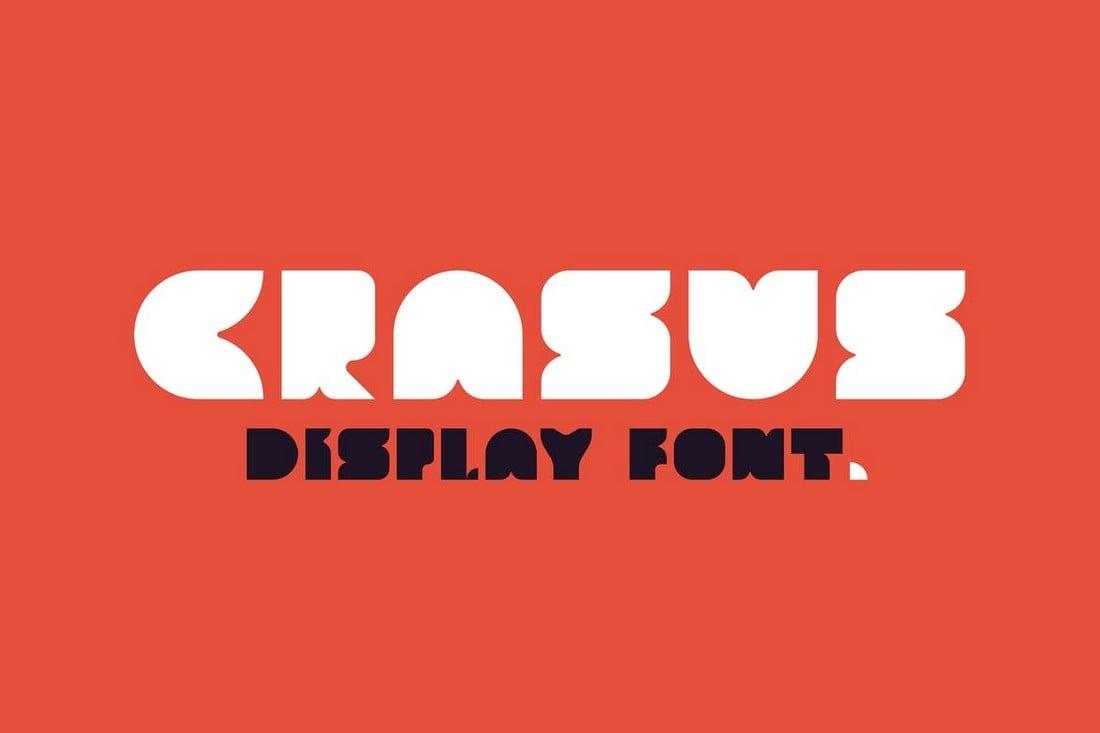 Crasus - Bold Display Font