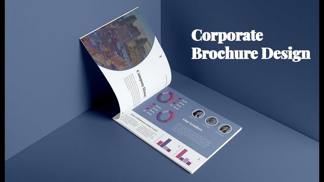 Create a Corporate Brochure in Adobe InDesign