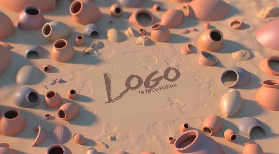 Creative After Effects Logo Reveal Template