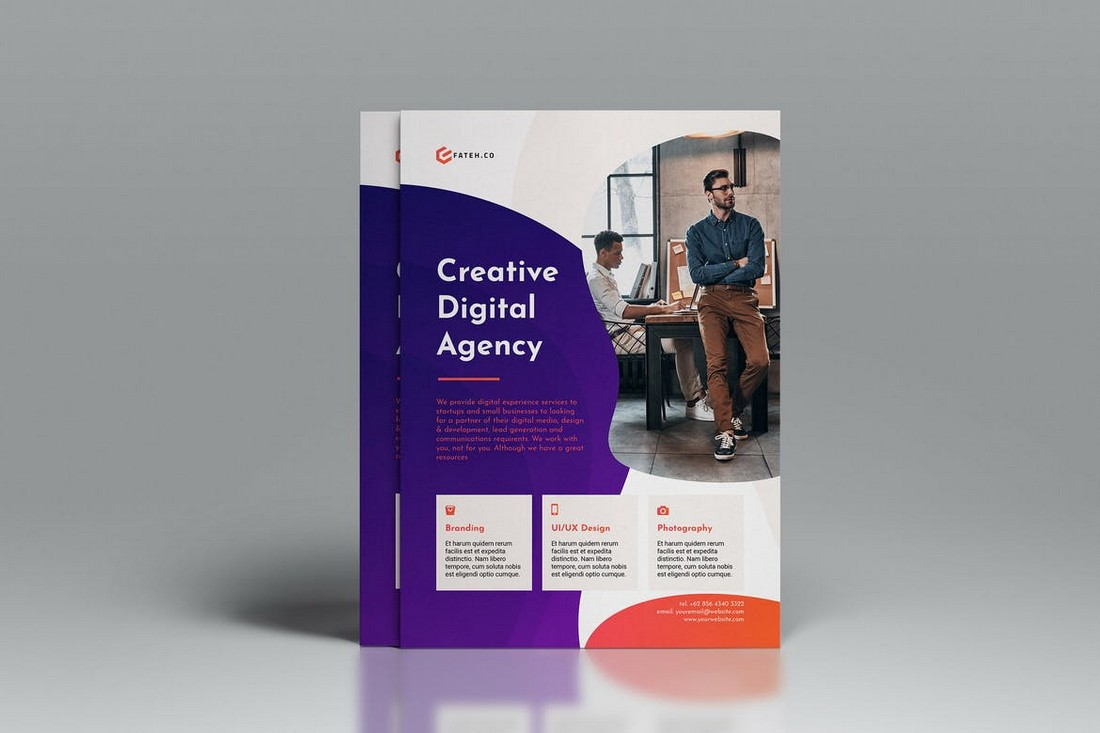 Creative Agency Flyer Template