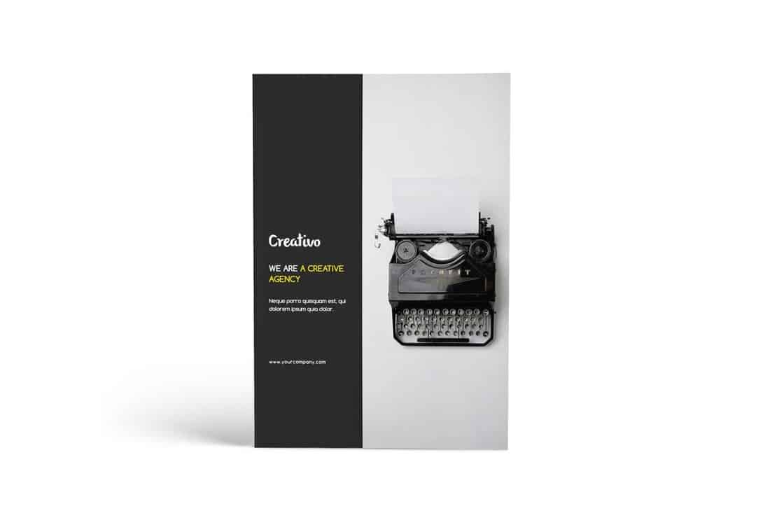 Creative Agency Portfolio Brochure Template