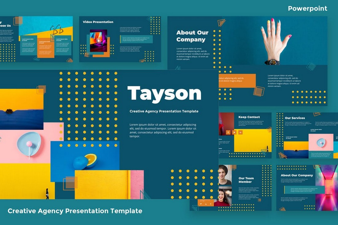 Creative Agency Powerpoint Template