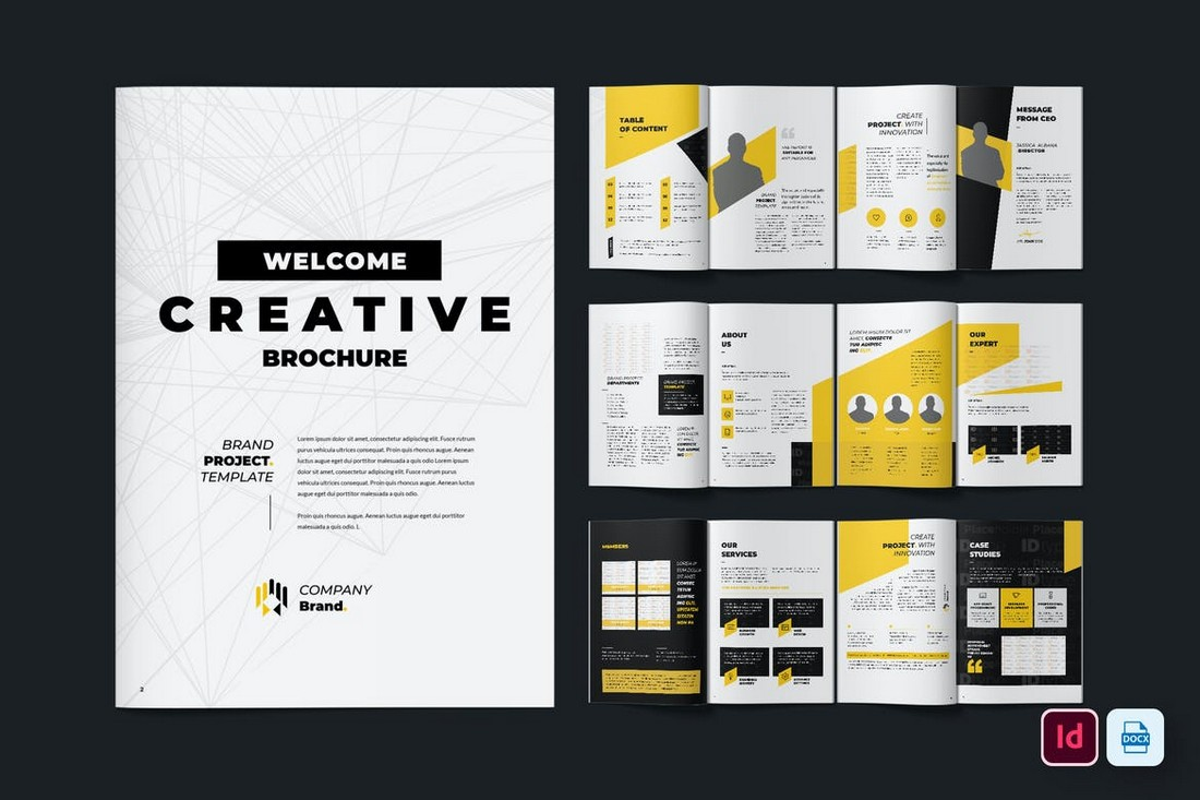 Creative-Annual-Report-INDD-Template 50+ Annual Report Templates (Word & InDesign) 2021 design tips
