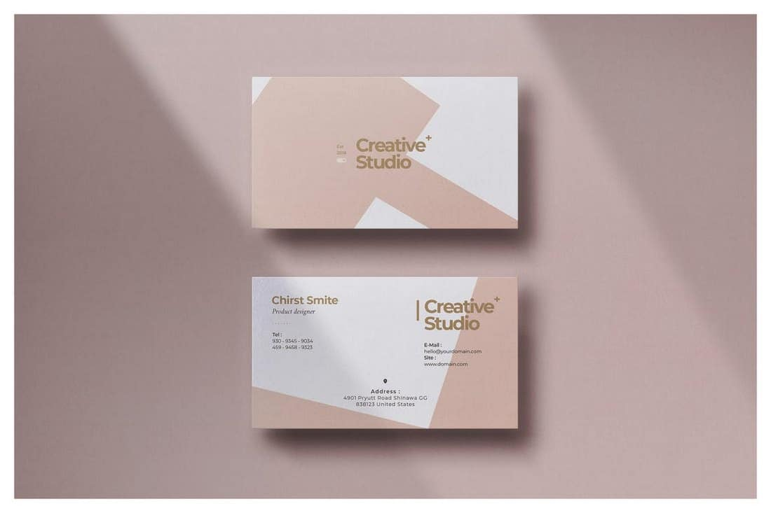 Creative Brand Business Card Template