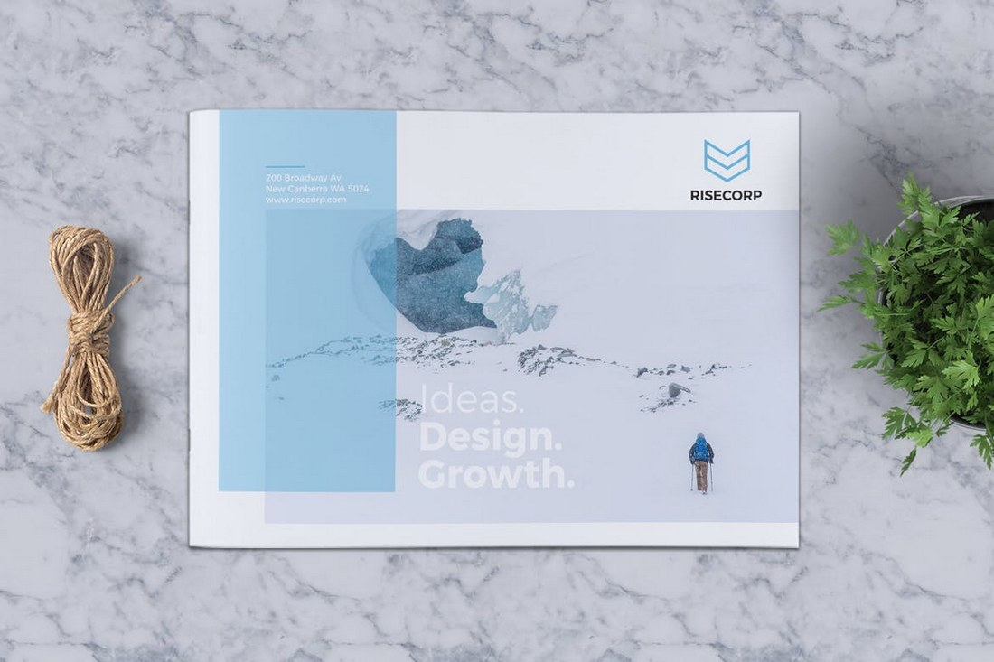 Creative Brochure Template A5