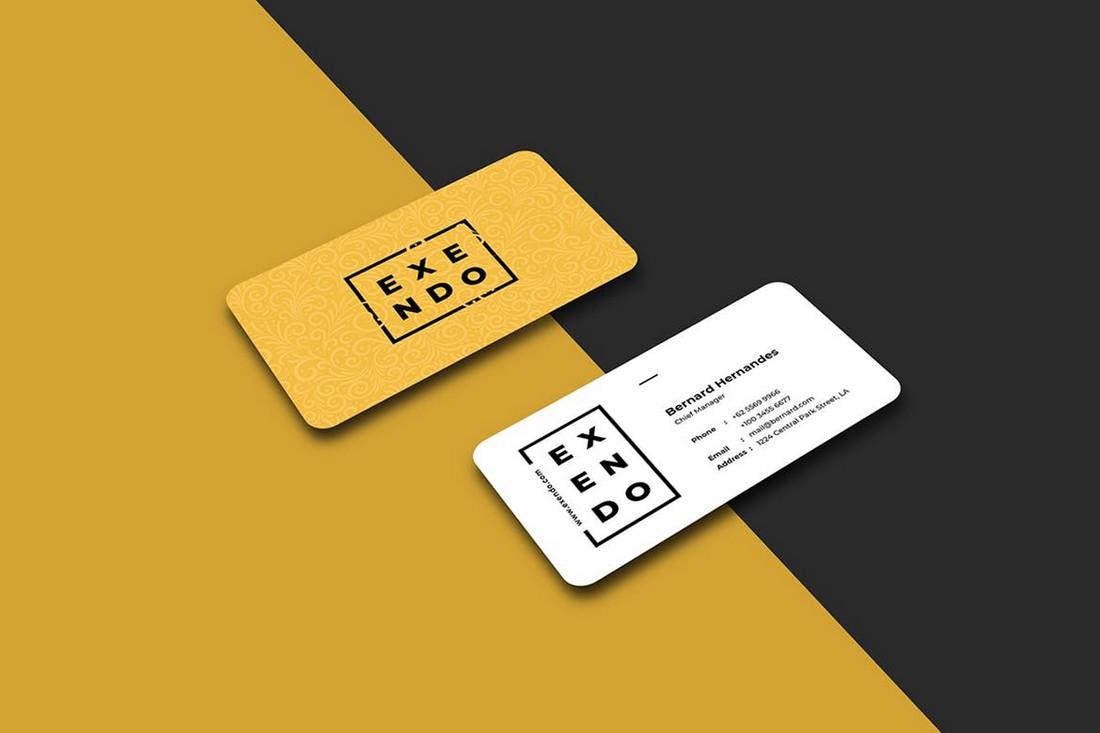 Creative Business Card Template (PSD)
