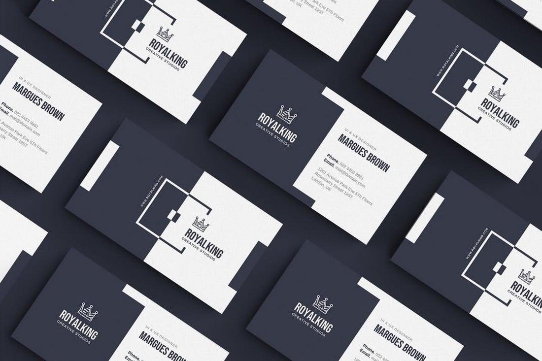 Creative Business Card Template for Illusrator