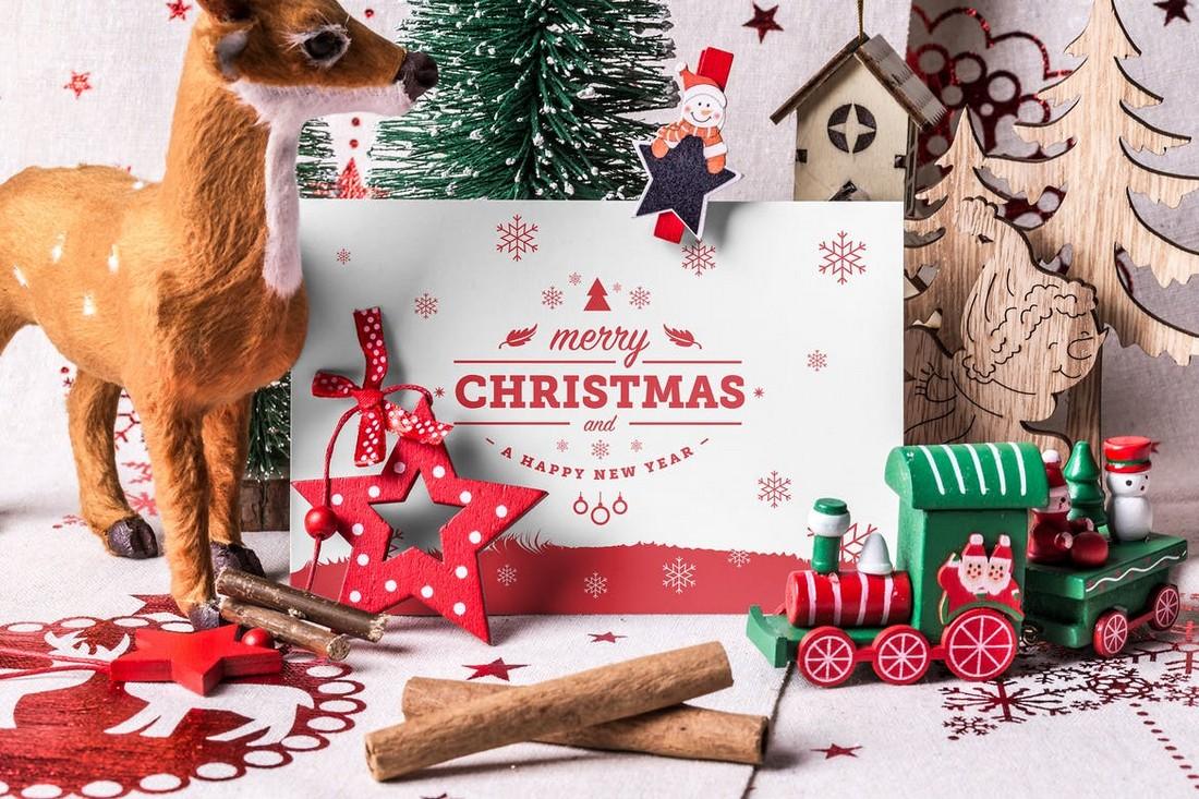 Creative Christmas Mockup